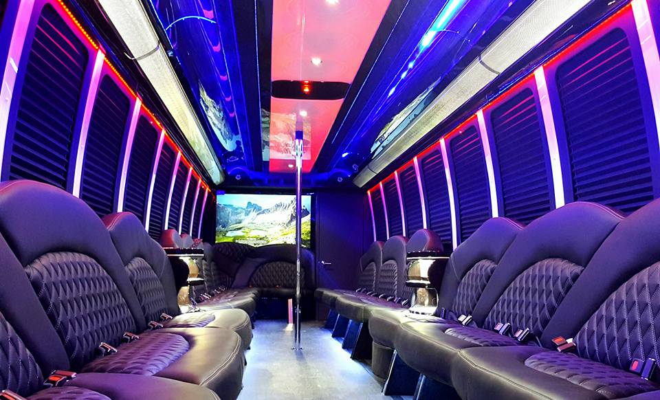 Freightliner Party Bus Limo 40 Passenger Party Bus Rentals Nyc