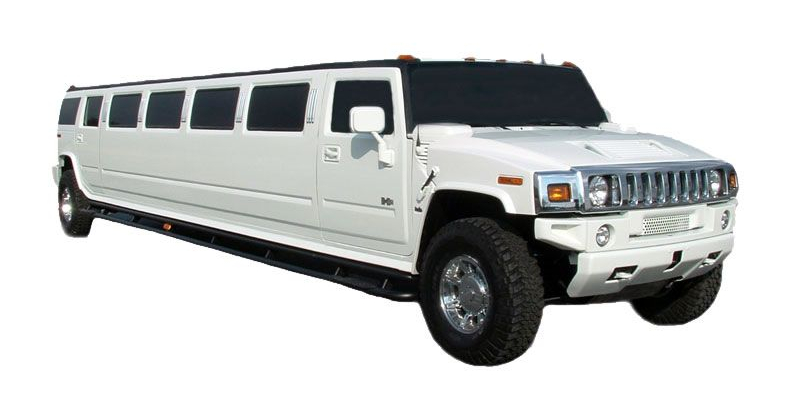 Hummer Stretch Limo (White)
