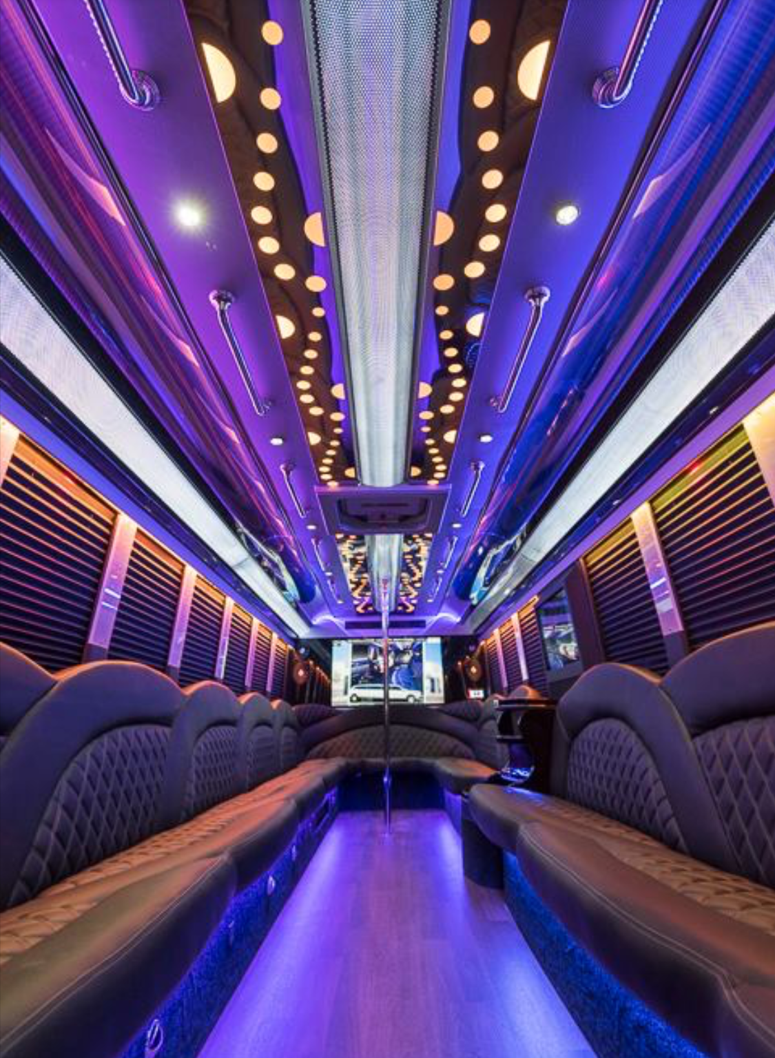 Party Bus Limo 26 Passenger Party Bus Rentals Nyc